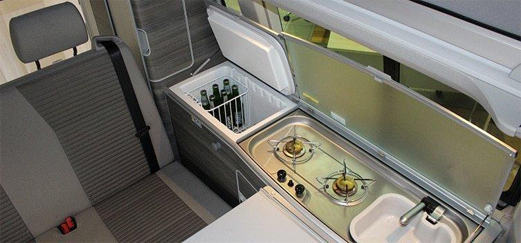 Volkswagen California Ocean Kitchen