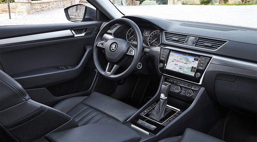 Skoda Superb Interior Dashboard