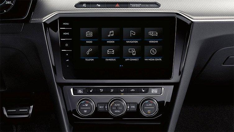 Arteon Media Touchscreen