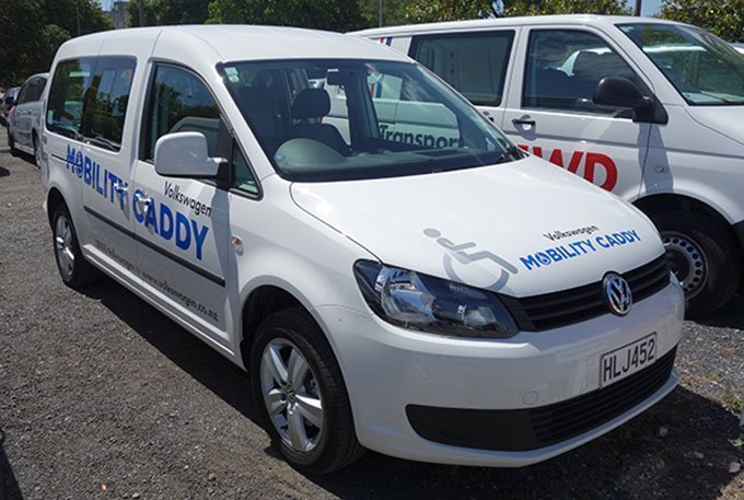 Volkswagen Caddy Mobility in NZ