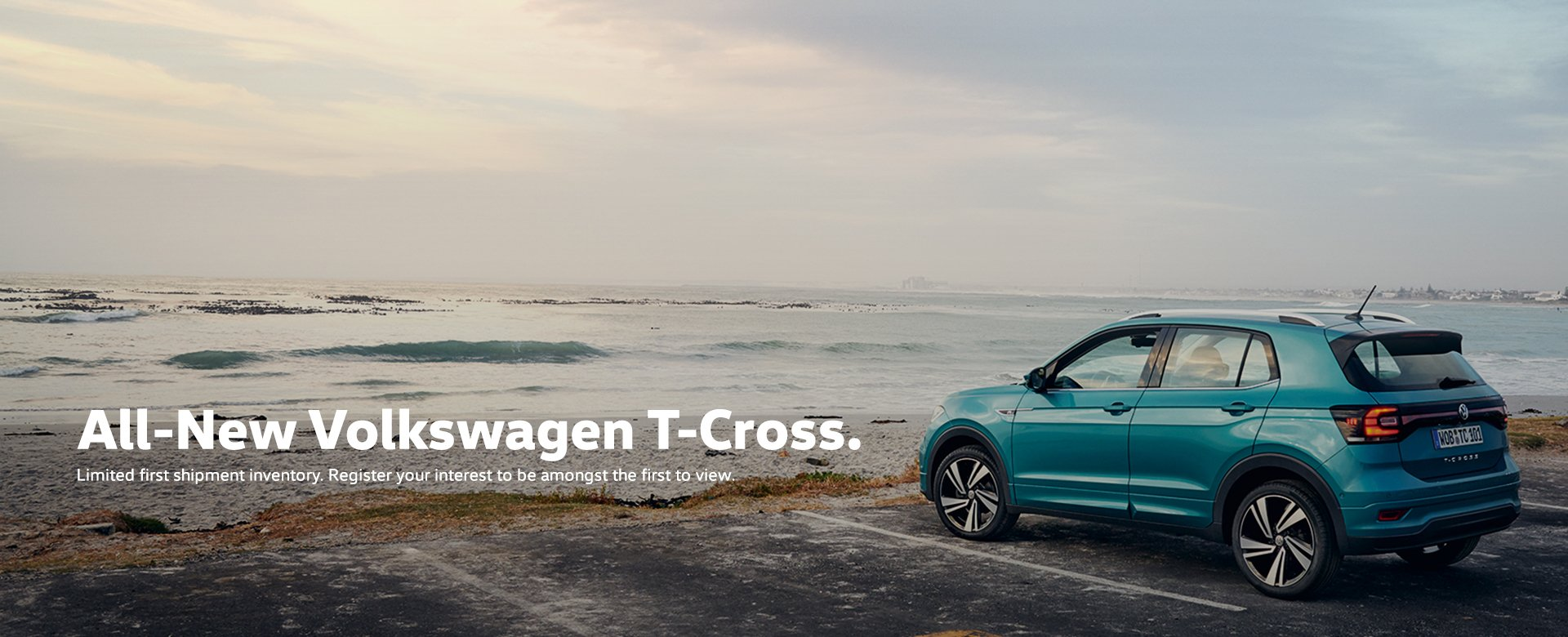 Volkswagen T-Cross. Limited Units Available.