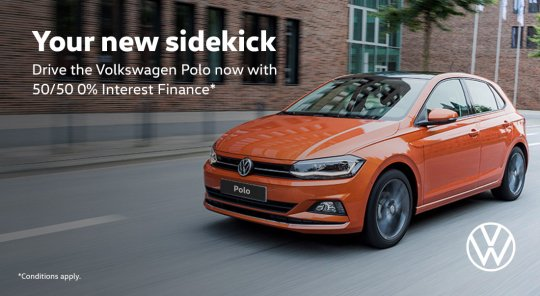Volkswagen Polo with 50/50 0% Finance