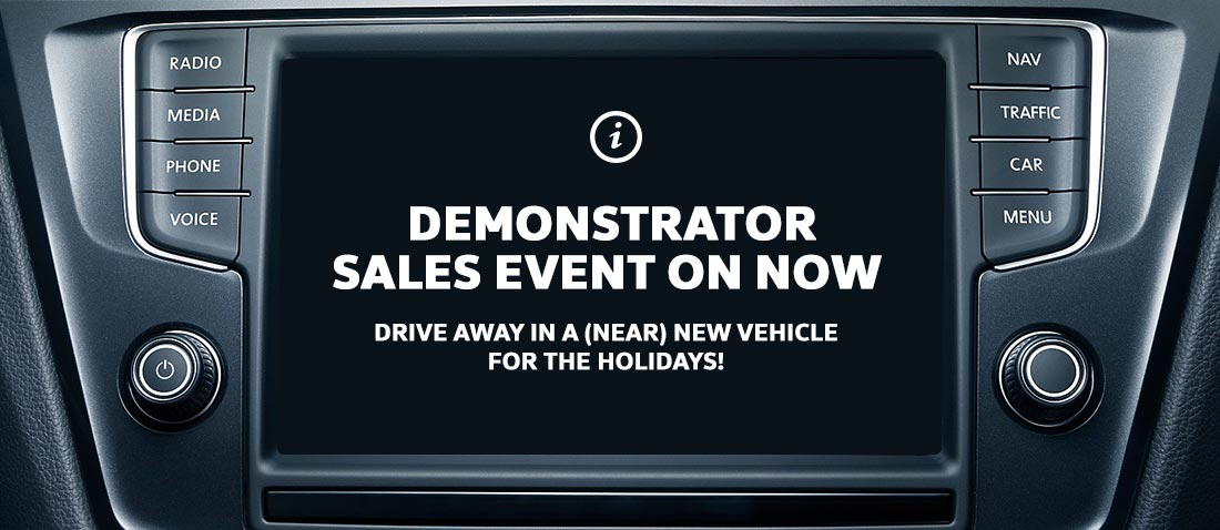 Demonstrator Sales Event