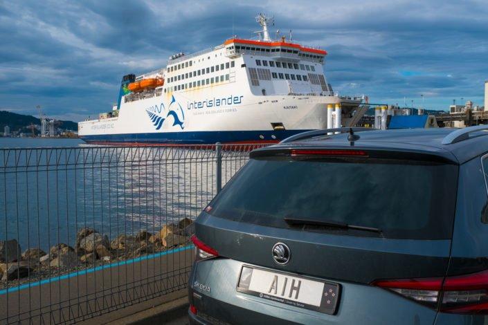 Interislander at Wellington