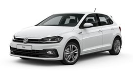 Polo R-Line in white