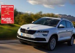 ŠKODA Karoq Best Car Award 2018