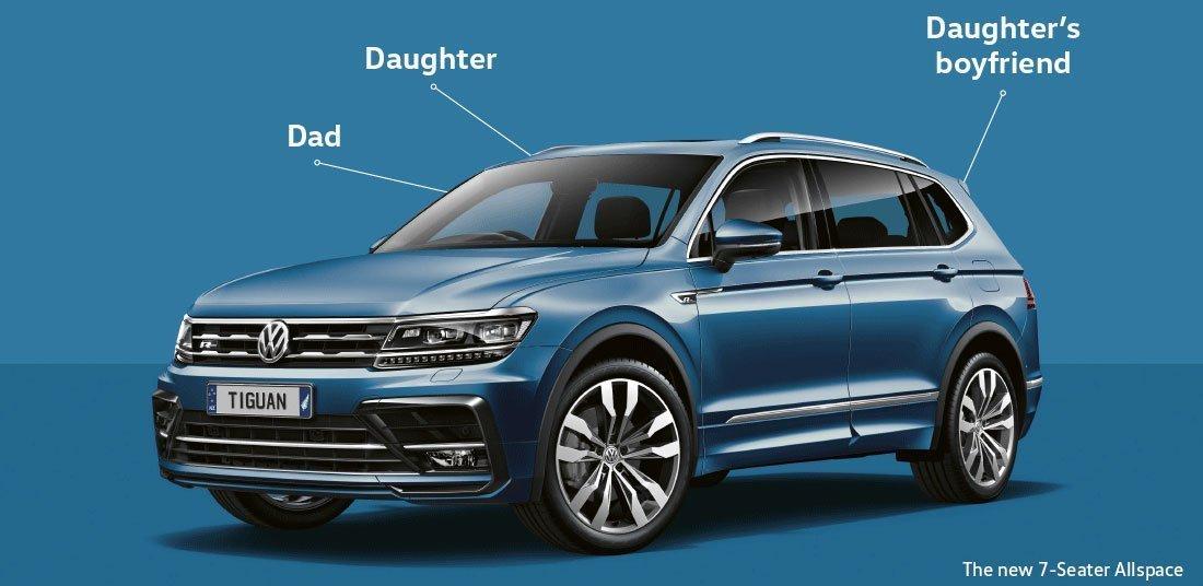 Volkswagen Tiguan Allspace 7-Seater SUV